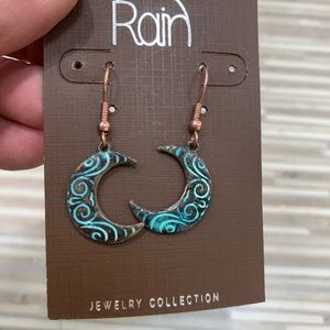 Crescent Moon Earrings boho style